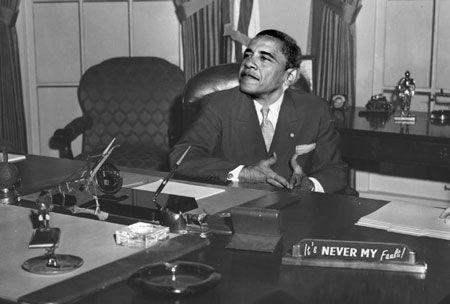 Obama is a slimeball