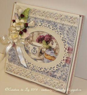 Cartes artisanales et autres projets artistiques de Liz: Une Boitatou et sa carte pour la Fête des Mères
