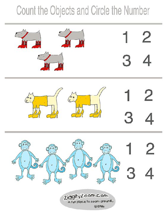printable kindergarten worksheets | This is an easy preschool ...