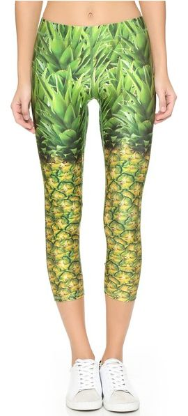 Fun pineapple leggings