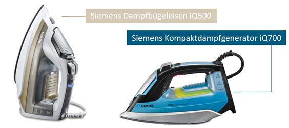 Siemens stellt eine neue Generation von Bügeleisen vor