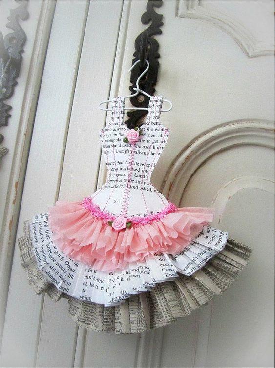 Papier Boudoir Boutique  Ballerina by lilliputloft on Etsy, $35.00