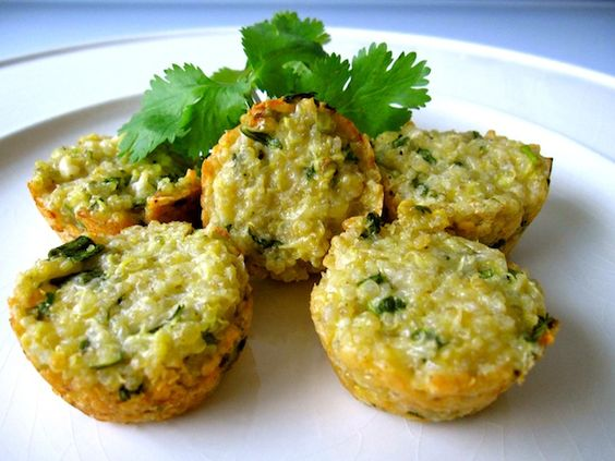 Parmesan Quinoa Bites, Holistic Recipe - Whole Lifestyle Nutrition | Organic Recipes & Holistic Recipes
