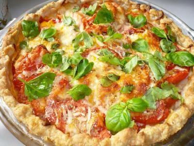 I love tomato pie, especially Paula Dean's recipe.  Super yummy!