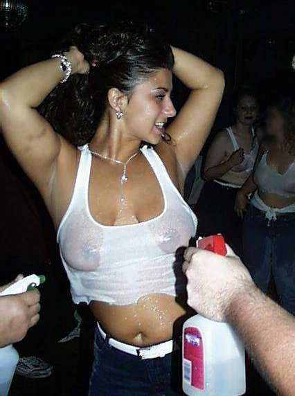 wet t-shirt contest