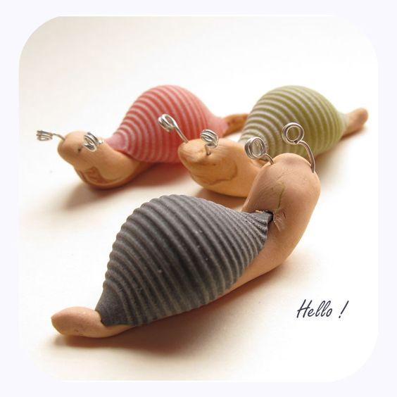 bricolage escargot
