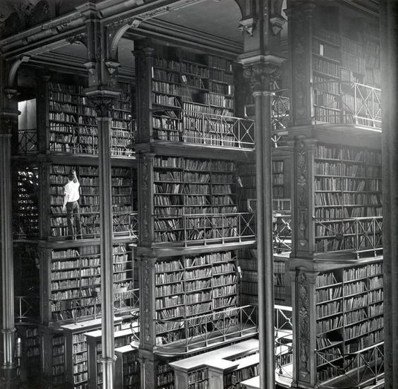 The Old Public Library Of Cincinnati, Ohio, USA from the 27 Most Incredible Libraries in the World - BlazePress