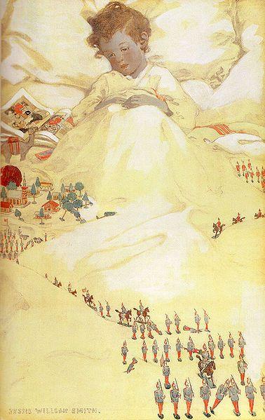 The Land of Counterplane  Jessie Willcox Smith (1863-1935)