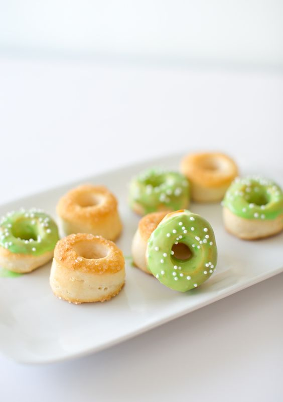 Tiny Leprechaun and Pot of Gold Donuts (made with just one ingredient and so fun and easy for kids to make)