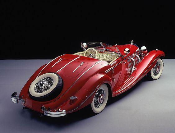 1935 Mercedes-Benz 500K Special Roadster...