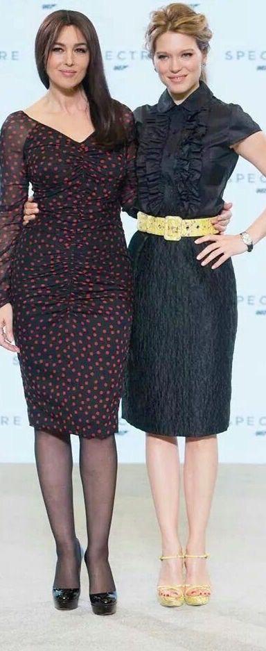 James Bond Girl n°24 - Léa Seydoux as Madeleine Swann (2014) with Monica Bellucci - Spectre