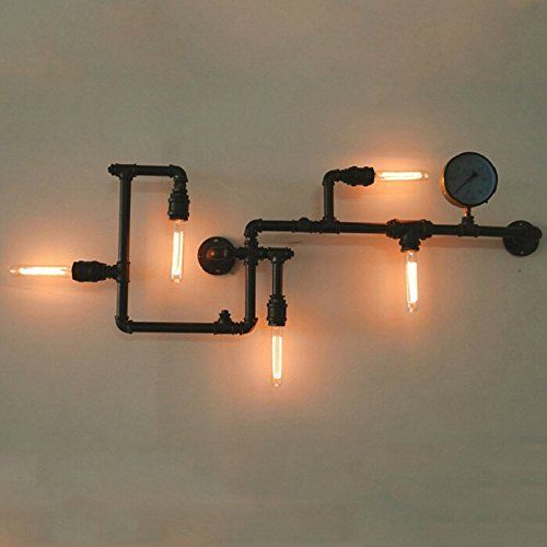 Edison Light Industrial Water Pipe Lamp Restoration Pendant Chandelier Lighting LUMICON http://www.amazon.com/dp/B00NOIH9QS/ref=cm_sw_r_pi_dp_Gi1kub0FCCJQ2