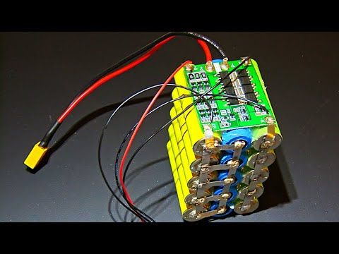 How To Assemble A 12v 3s Battery Pack Using Old Laptop 18650 Batteries Youtube In 2020 Battery Pack 18650 Battery Battery Hacks