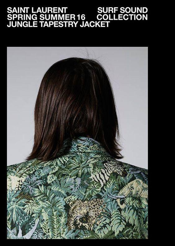 Los detalles de Saint Laurent 'Surf Sound Collection' « We, the Gents