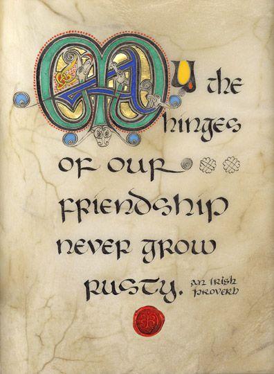 Celtic Card Company Presents The Illustrated Manuscripts