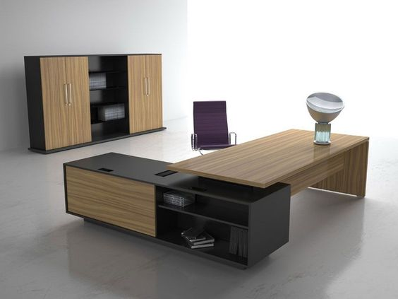 Wooden Office Style   Vogue By Sine Rica | Mesas Escritorio | Pinterest