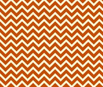 orange chevron fabric