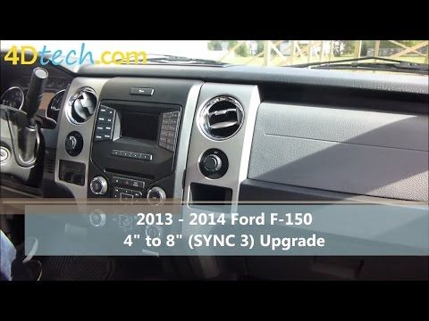 4 To 8 Upgrade W Sync 3 2013 2014 Ford F 150 1900 Ford