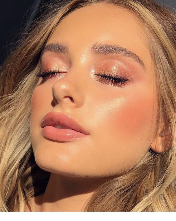Cute Makeup Look With Soft Pink Color Natural Summer Makeup Simple Makeup Natural Makeup Looks