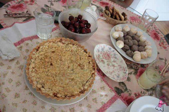 Tarta crumble de manzanas / Ponete el Delantal - Blog de cocina
