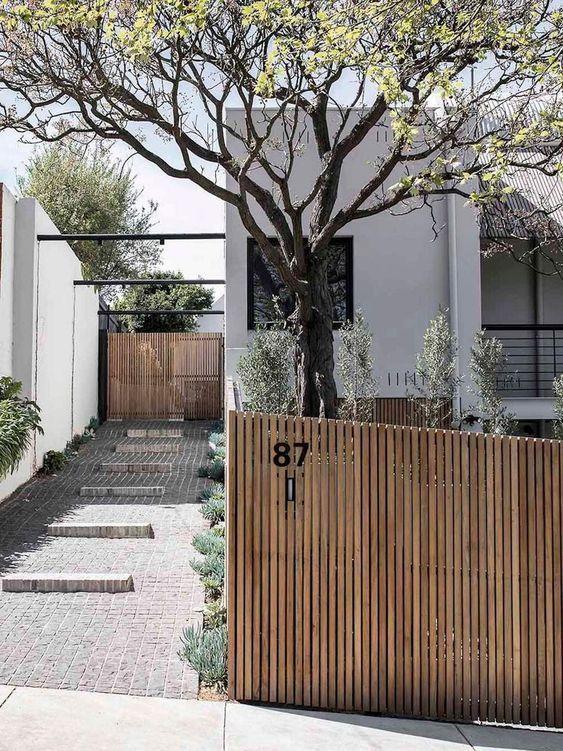 19 Photos Of Simple But Stunning Backyard Designs Lavorist Aussengestaltung Hauswand Haus Architektur