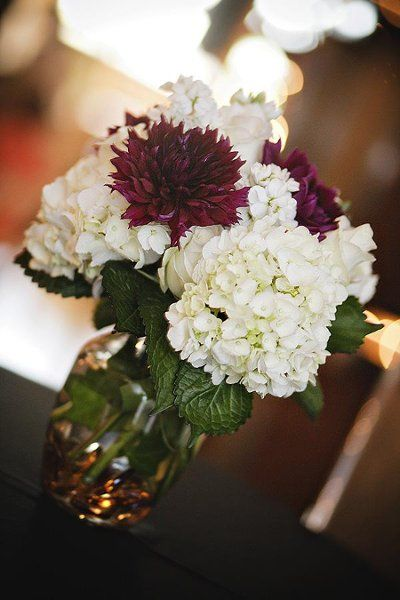 My photo album receptions simple centerpieces and flower