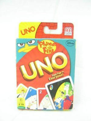 Phineas and Ferb UNO Card Game
