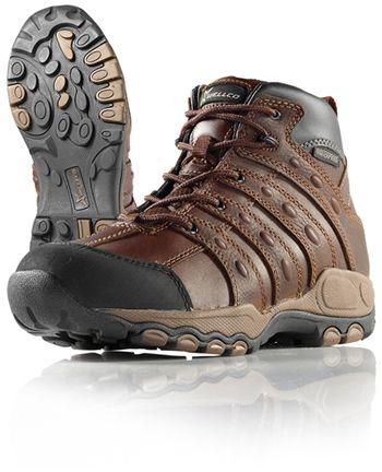 Wellco Mens Shotgun PT 6 Inch Waterproof Hiking Work Boots # B750 ...