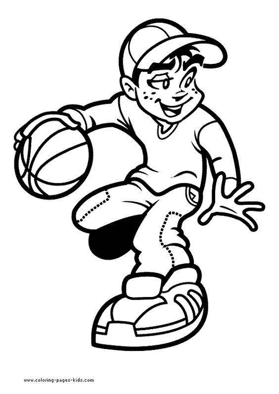 basketball coloring pages google search