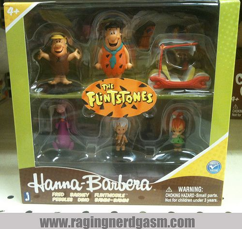 Hanna Barbera Classic Cartoon Characters 2 inch Figurines Jazwares The Flinstones. Check out our flickr at http://www.flickr.com/photos/ragingnerdgasm/sets/72157631125894402/