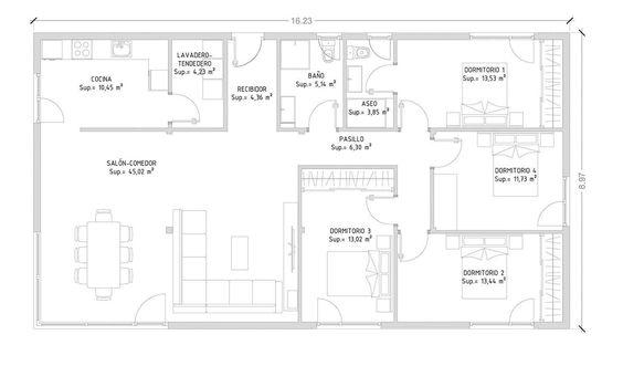 Cube 150 m imaginer à lu0027entrée vestiaire toilette traversant sur - plan maison 170 m2 plain pied