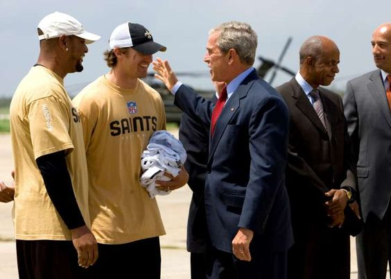 Bush returns to New Orleans for 10th anniversary of Katrina