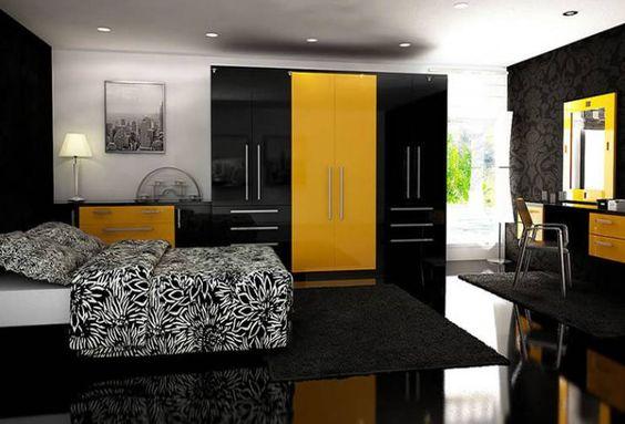 Quarto Moderno por Chasewood Furniture