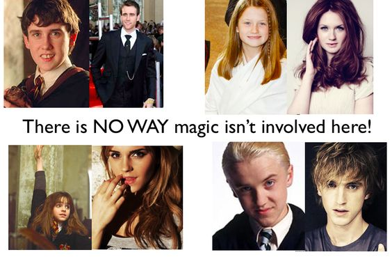 Magical puberty.
