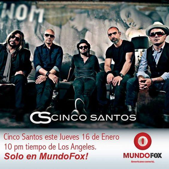 No se pierdan nuestra entrevista en @MundoFOX. Americano Como Tú. @L a , #cincosantos #interview