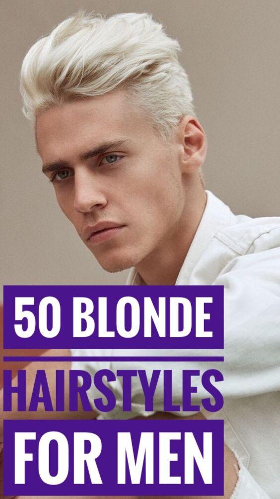 50 Blonde Hairstyles For Men Hair Hairstyle Menhair