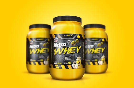 Convidados para criar do zero o conceito Nitro Muscle, cumprimos todas as etapas, cuidando de cada detalhe. Criamos a linha de embalagens, marca e padrão de comunicação. O layout mostra para o consumidor final o excelente resultado e a potência do produto.