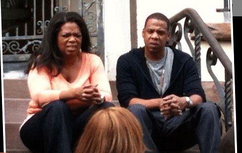 Oprah and Jay Z