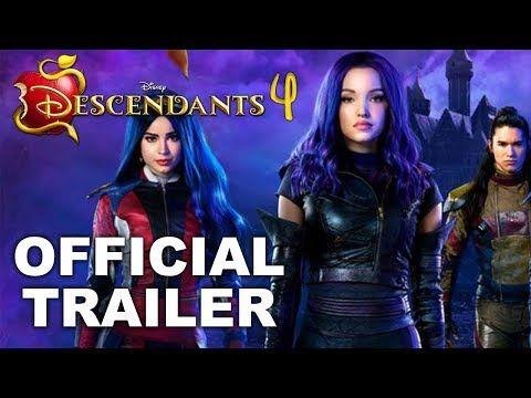 Descendants 4 Official Hd Trailer 2020 Youtube Descendants Descendants Trailer Best Funny Videos