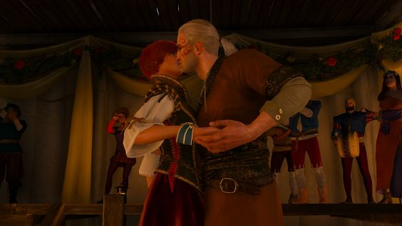 Shani and Géralt The witcher 3