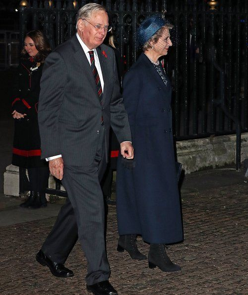 British Royal family attended Armistice Day 2018