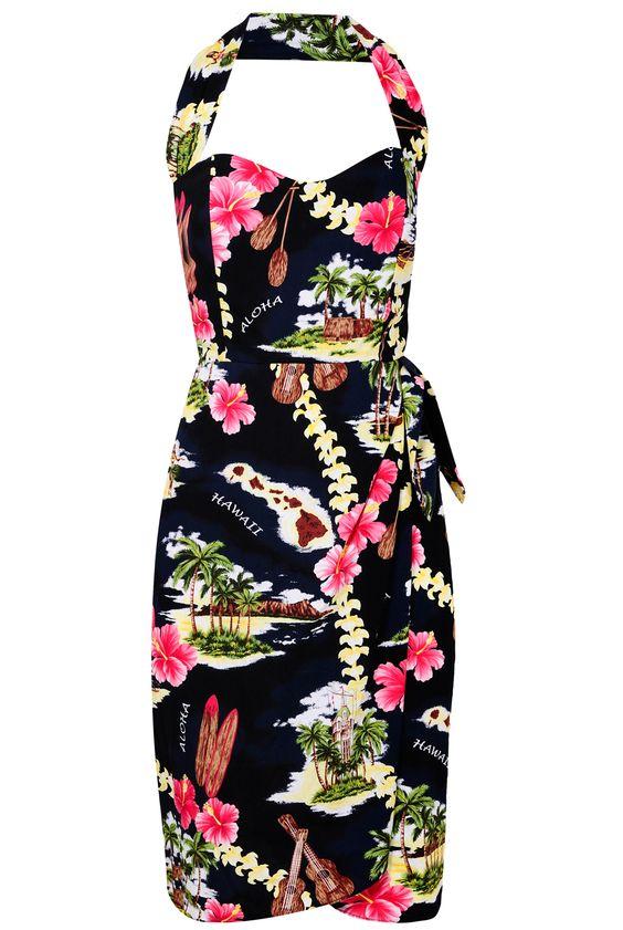 Hawaiian Dress Hawaiian Dresses Pinterest Receptions