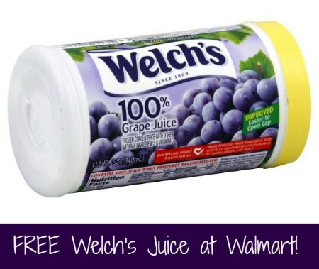 FREE Welch's 100% Juice Concentrate at Walmart