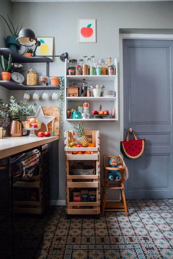 電気ポット カラー ポイント コーディネート例 イメージ キッチン