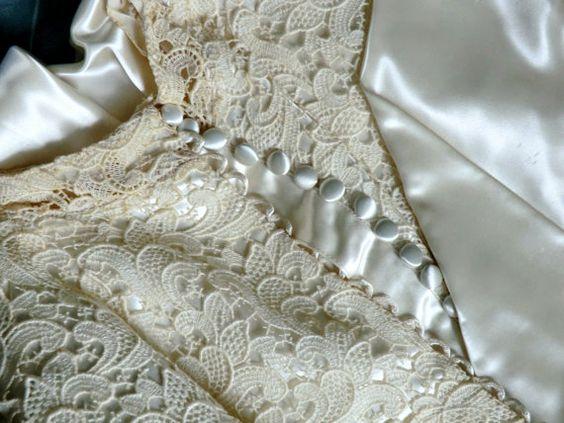 Miriam Orginal New York Vintage Wedding Dress by DawnsCrochetShop