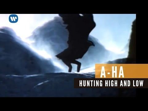 A Ha Hunting High And Low Official Music Video Youtube