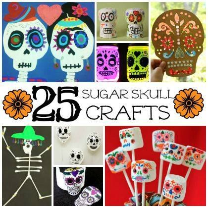 Day of the dead the dead and crafts for kids on pinterest for Day of the dead crafts for preschoolers