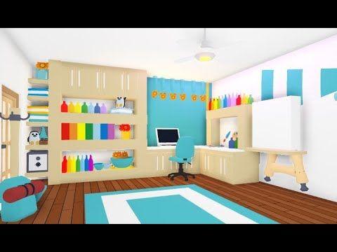 Artist Bedroom Speedbuild Roblox Adopt Me Youtube Artist Bedroom Cute Room Ideas Cute Bedroom Ideas
