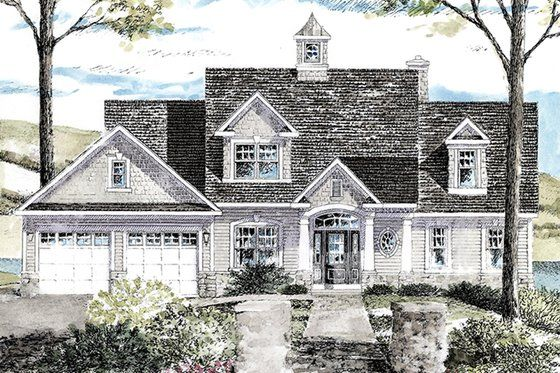 Colonial Style House Plan 3 Beds 2 5 Baths 2410 Sq Ft Plan 316 287 Craftsman Style House Plans House Plans Colonial Style Homes