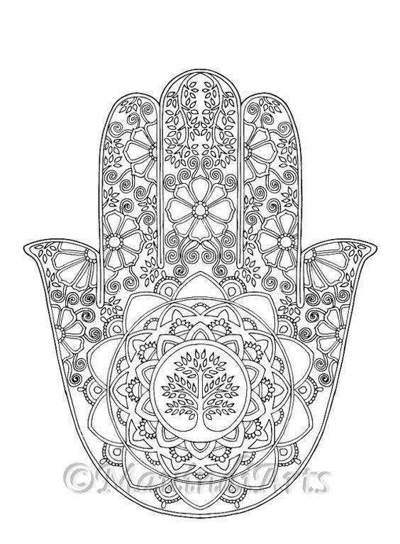 Coloring Circles and Mandalas on Pinterest